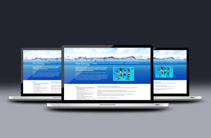 Website Aqua Training